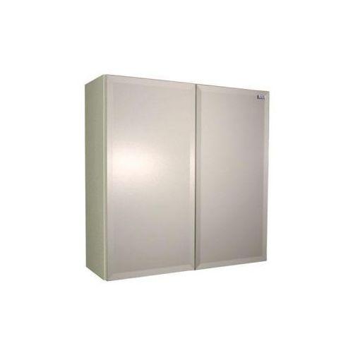 Lawabo Szafka wisząca z MDF z lustrem 60x60x20 cm SWL3