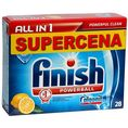 Finish All In 1 Powerball Lemon, tabletki do zmywarki 26 szt.