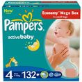 Pampers Active Baby 4 Maxi - 132 szt.