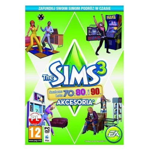 The Sims 3 Szalone Lata 70, 80, 90 [PC]