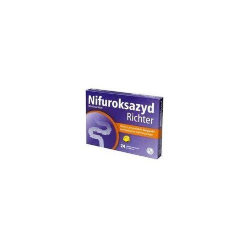 NIFUROKSAZYD Richter 100 mg 24 tabletki