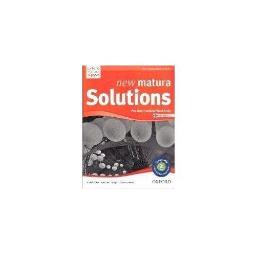 New Matura Solutions Pre-Intermediate Workbook z płytą CD [opr. miękka]