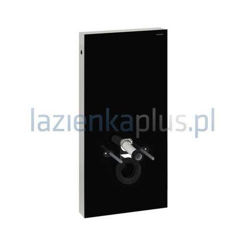 Moduł sanitarny do WC wiszącego H101 szkło czarne/aluminium Geberit Monolith 131.022.SJ.1