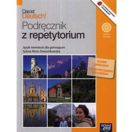 Das ist Deutsch! Gimnazjum. Język niemiecki. Podręcznik z repetytorium (+CD) [opr. miękka]