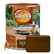 SADOLIN SUPERDECK OLEJ DO TARASÓW KOLOR PALISANDER 2,5L