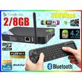 ANDROID SMART TV BOX RK3188 RJ45 WiFi + MEASY RC12