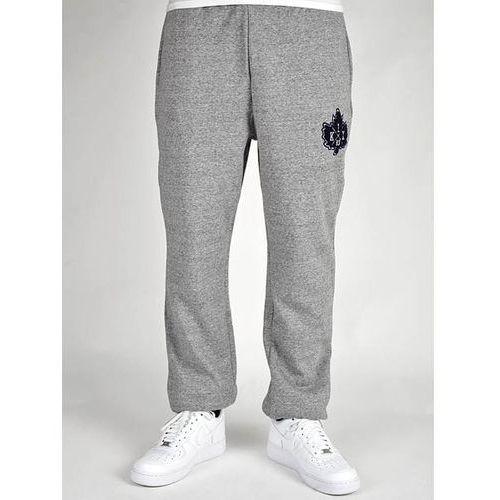 spodnie dresowe K1X - Vintage Crest Sweatpants Dark Grey Heather/Navy (8486) rozmiar: XXXL