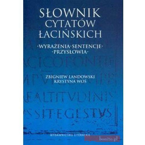Słownik Cytatów Łacińskich. Nowe Wydanie [opr. miękka]