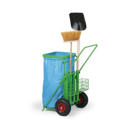 Wózek do sprzątania terenów zewnętrznych