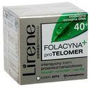 LIRENE 50ml 40+ Folacyna proTelomer krem przeciwzmarszczkowy na dzień